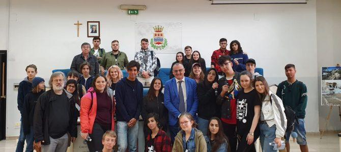 Eboli: il sindaco saluta i ragazzi del progetto Erasmus